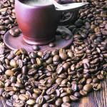 """""""Горячий кофе"""" рекламный фото натюрморт."""