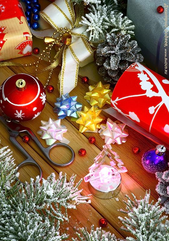 «Новогоднее», рекламная фотография