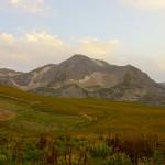 Горы Кавказа, район плато Лаго-Наки
