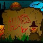 Иллюстрация на тему Хэллоуин, векторная графика.
